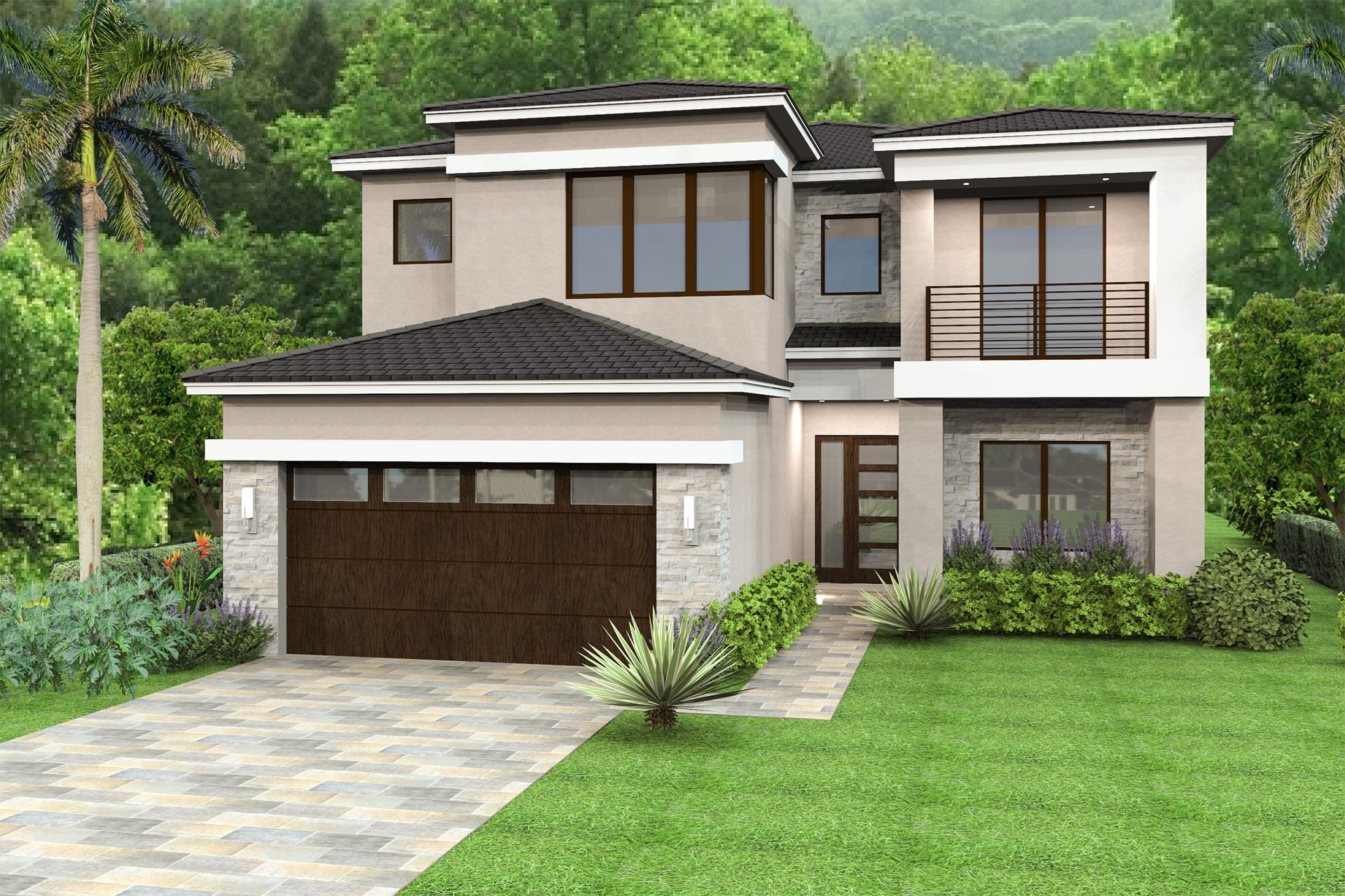 Somerset Grande Contemporary Style