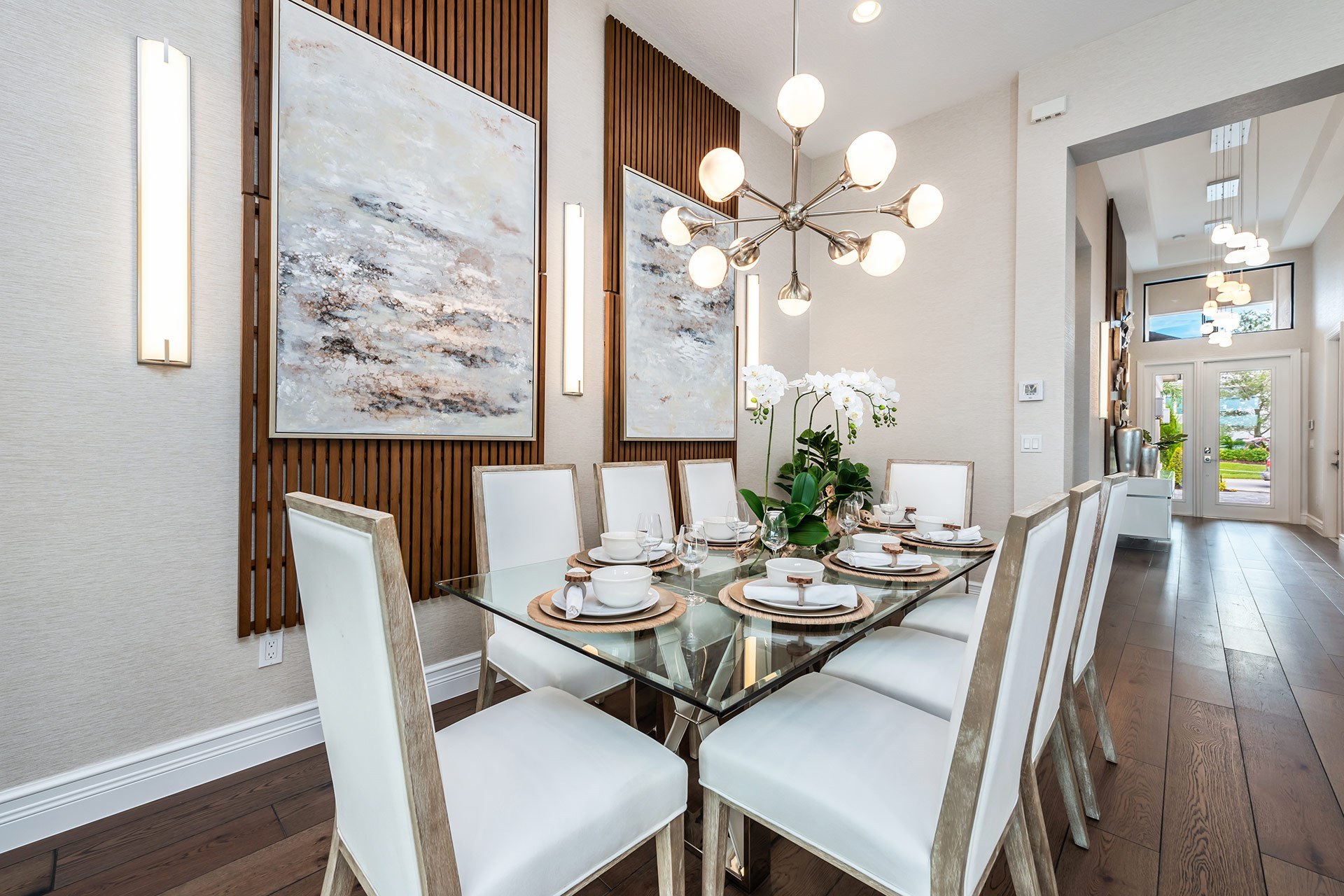 Venice Contemporary Dining Room
