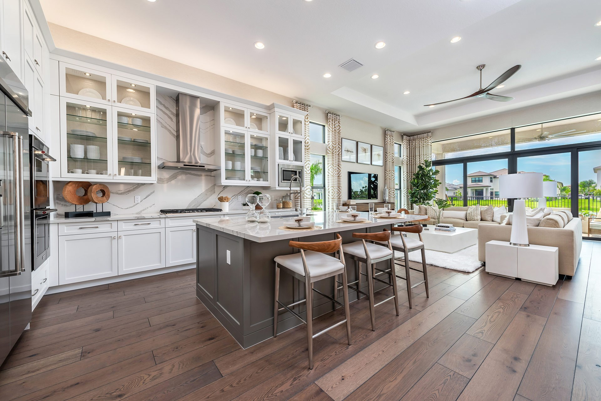 Venice Contemporary Kitchen and Great Room