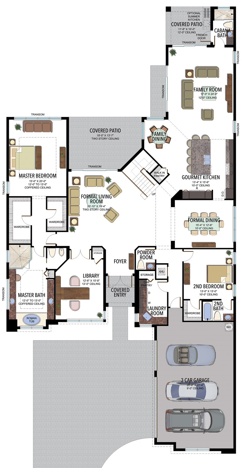 BBR Colonnade Grande Contemporary 756C F1 Floorplan v2b