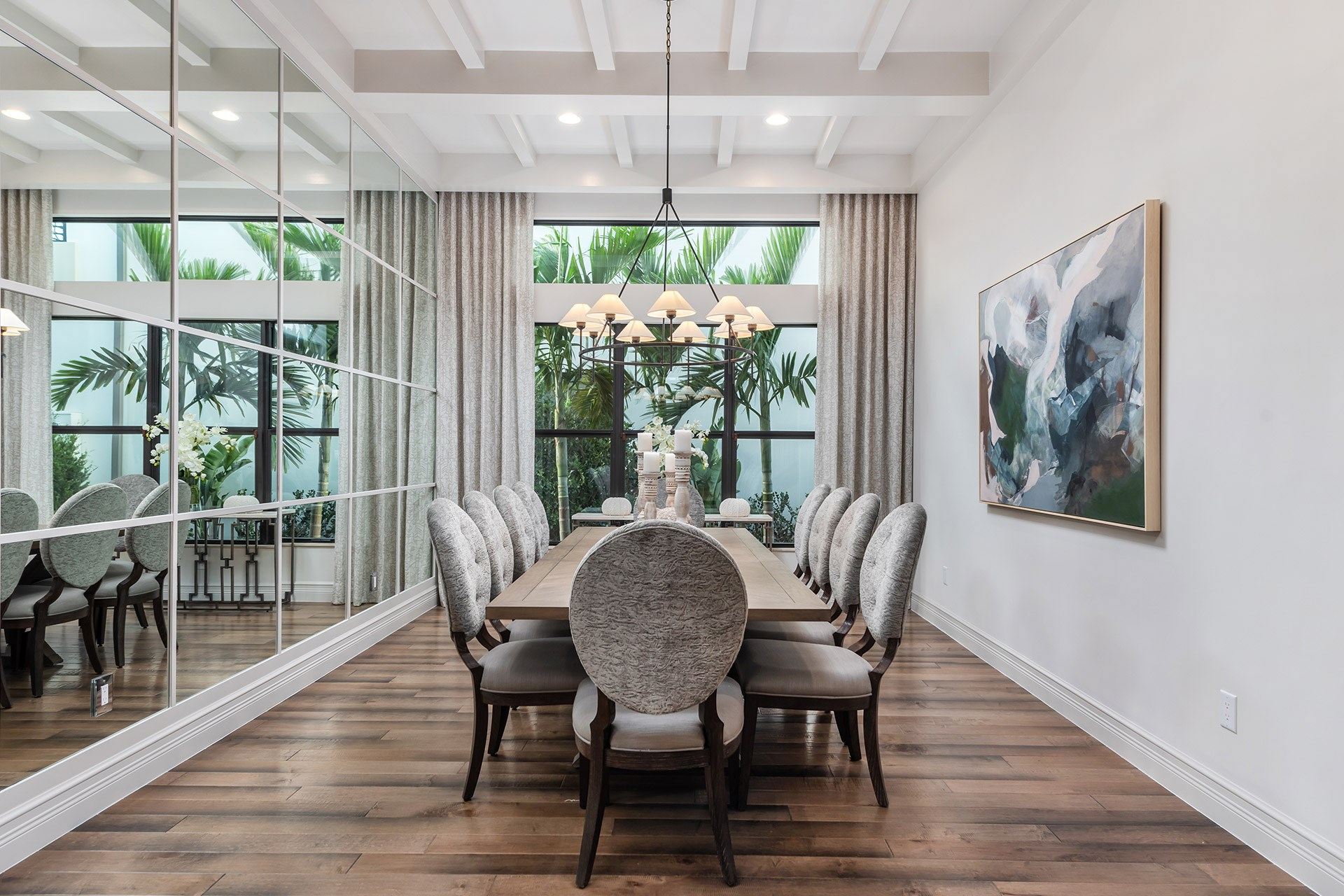 Riverside Contemporary Dining Room
