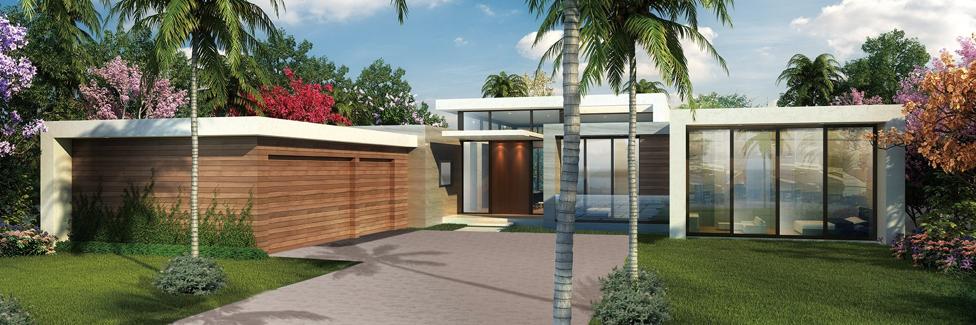 MODERN STYLE HOME DESIGNS
