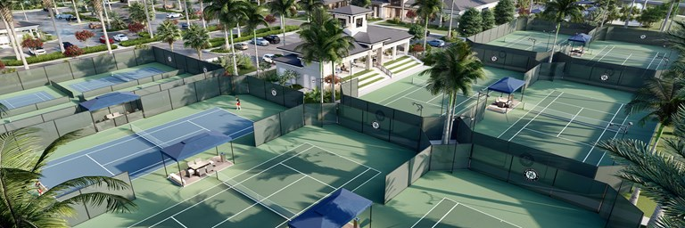 BBR clubhouse tennis courts