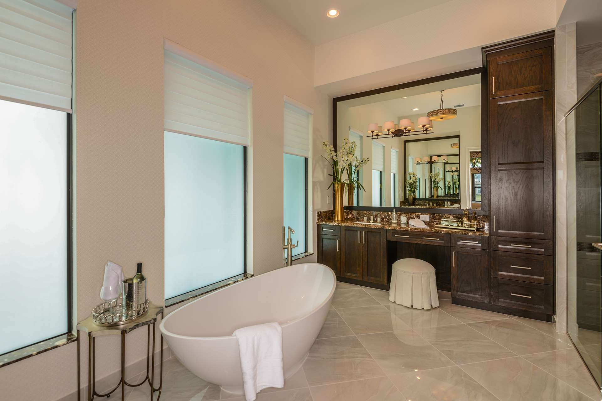 Rialto Contemporary Master Bathroom