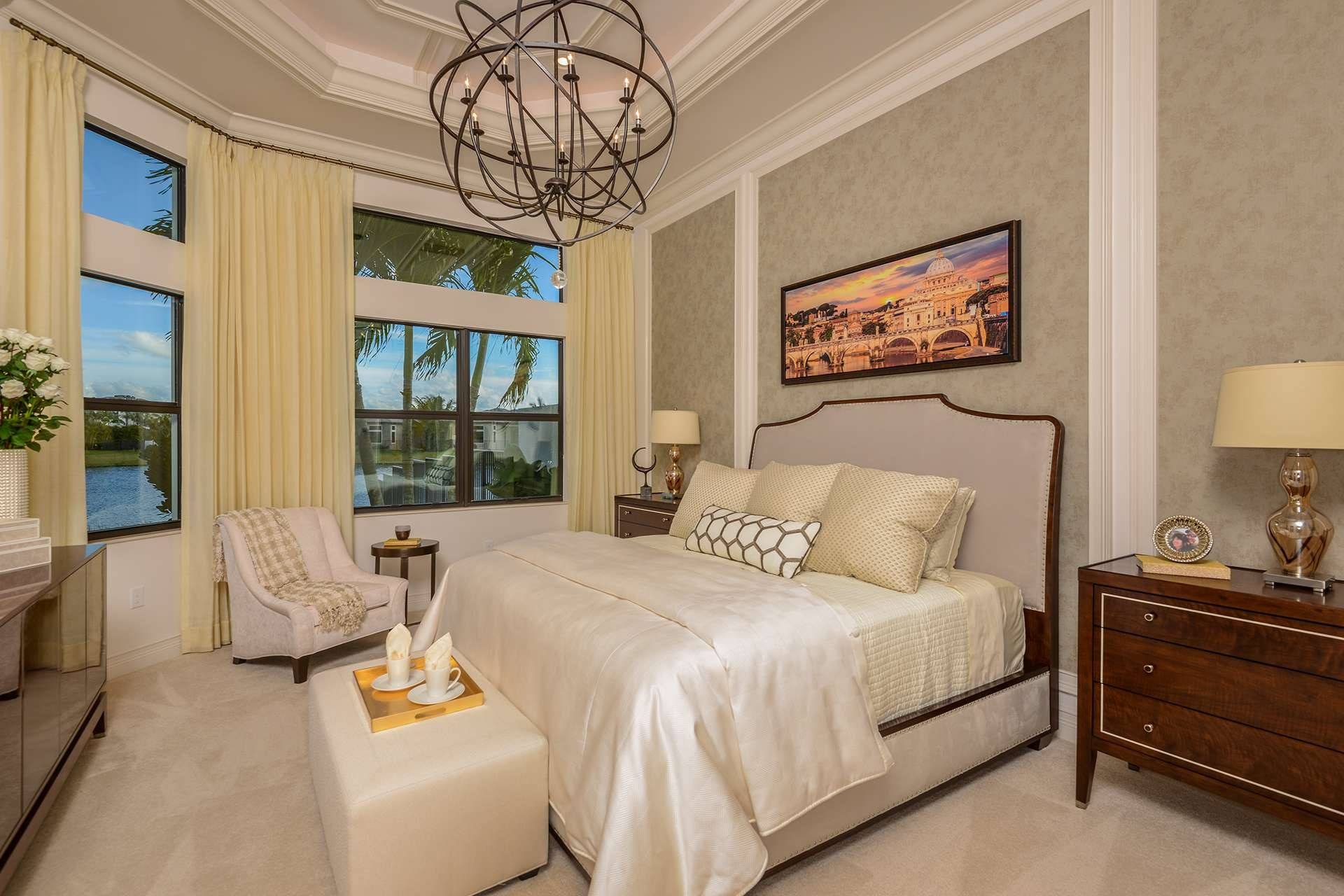 Rialto Grande Contemporary Master Bedroom