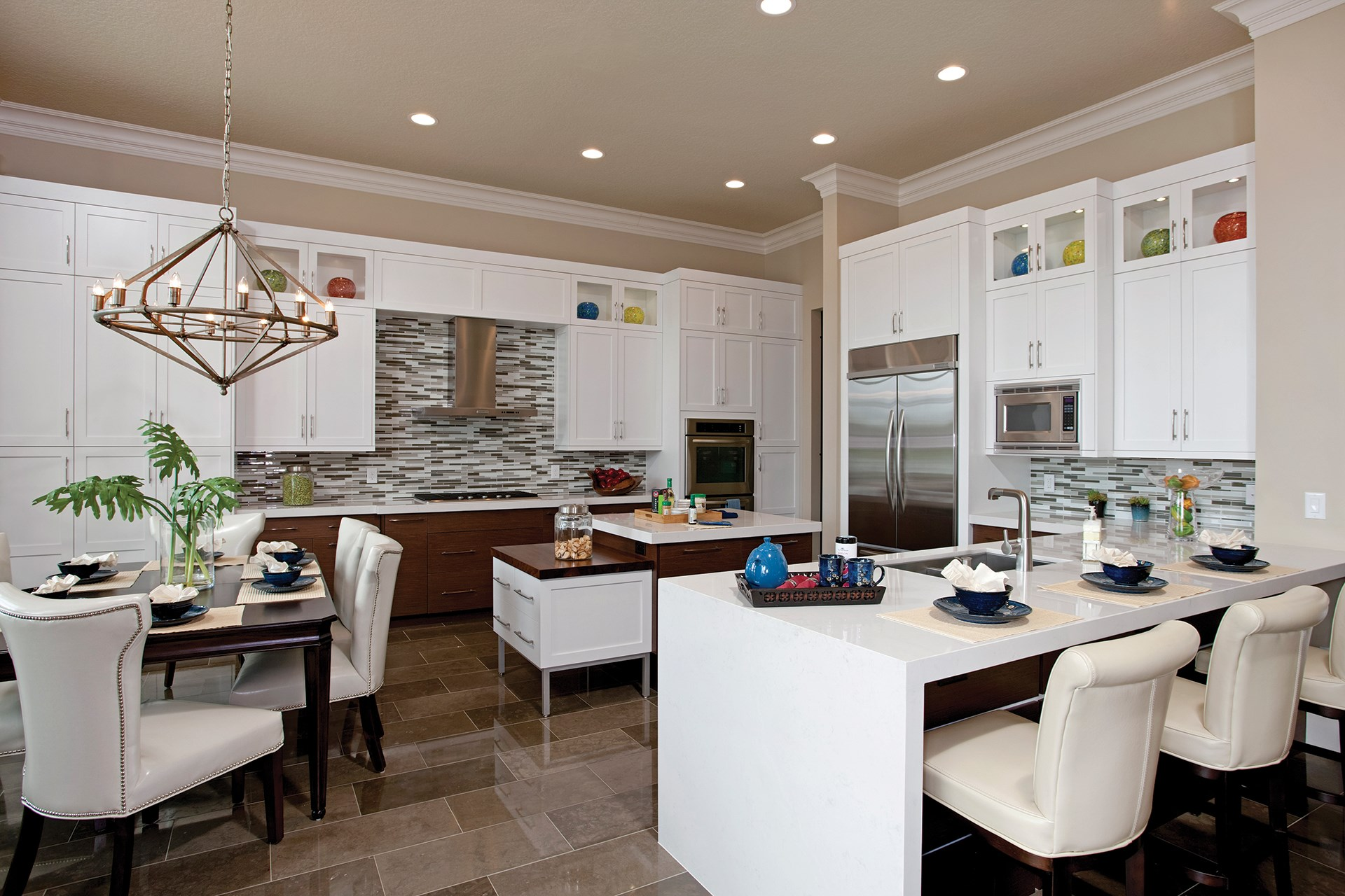 Sanibel Contemporary Kitchen