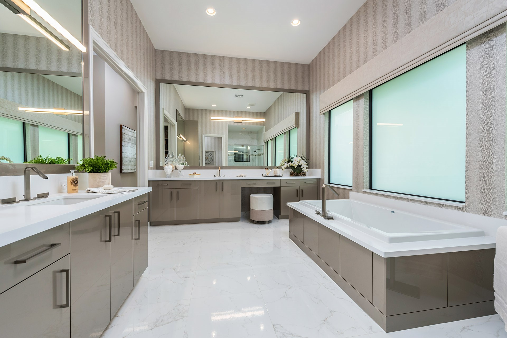 Sevilla Contemporary Master Bathroom