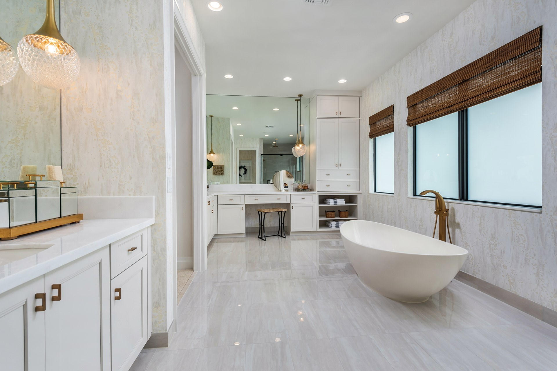 Palma Contemporary Master Bathroom
