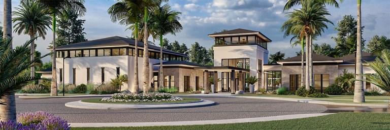 Lotus clubhouse rendering