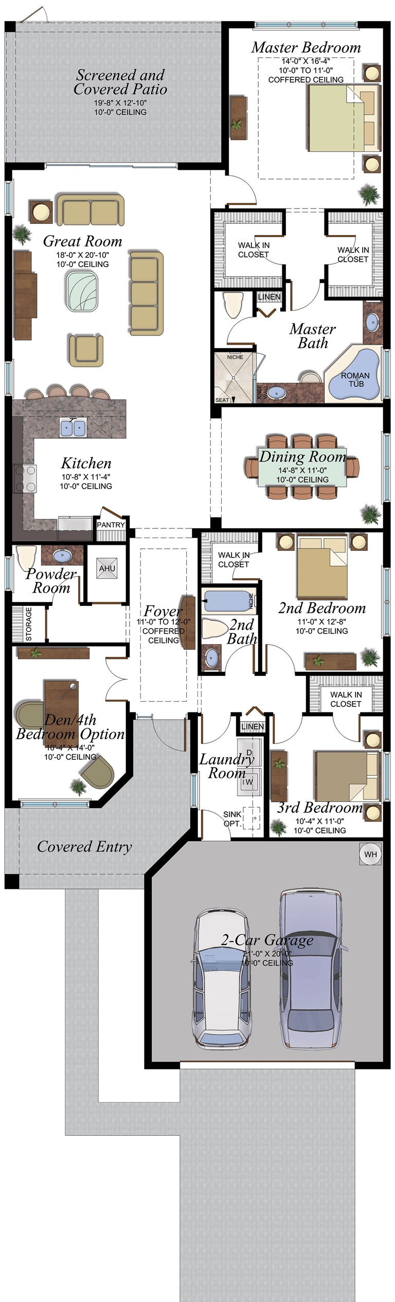 454 Tribeca floorplan
