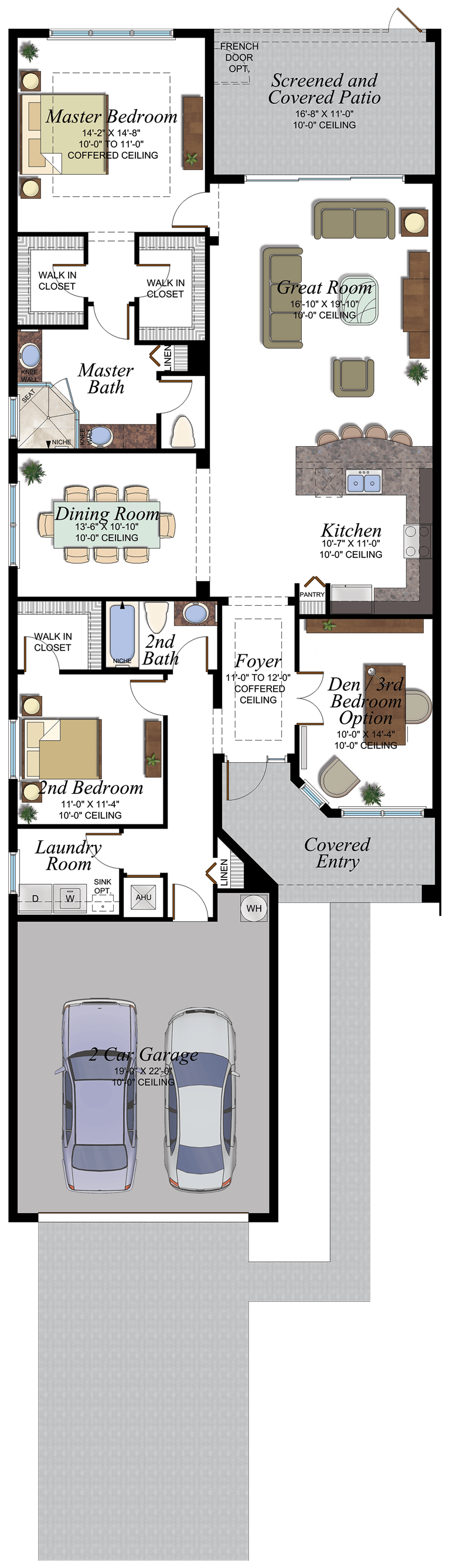 33 Oxford floorplan