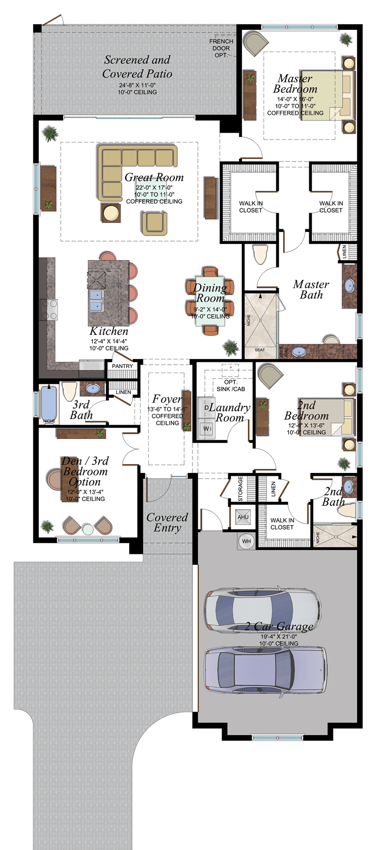 Riviera 507 Floorplan