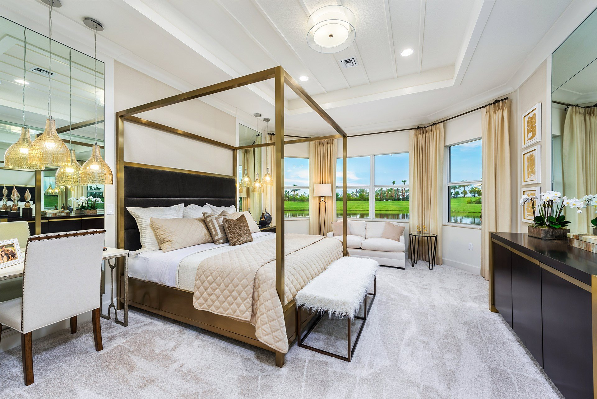 Carlyle Master Bedroom