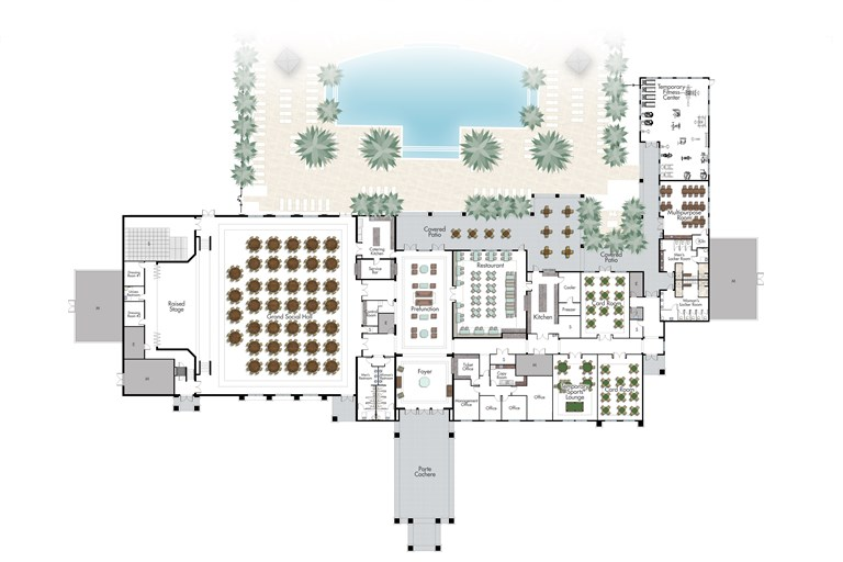 VCR Clubhouse Floorplan