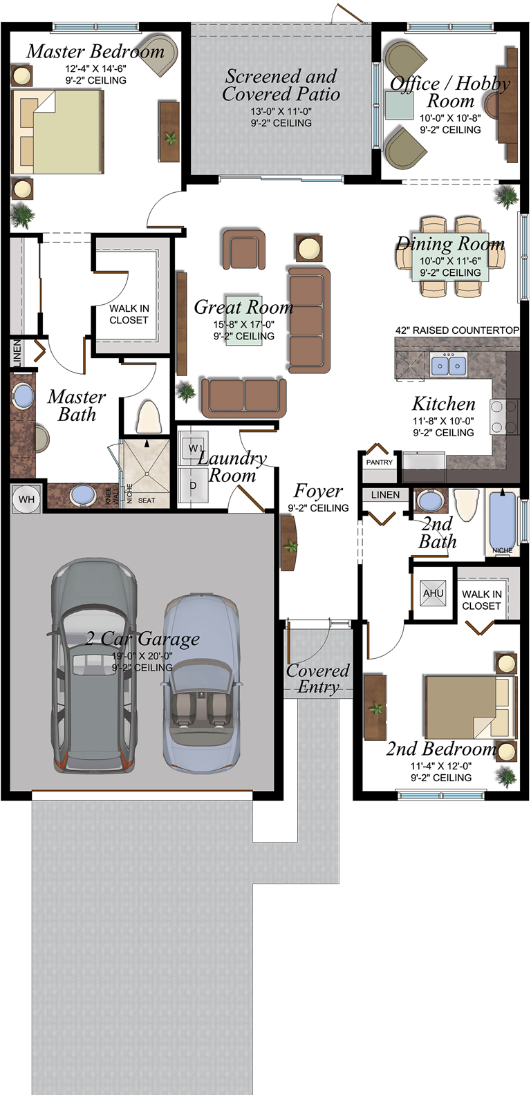 Osprey Floorplan