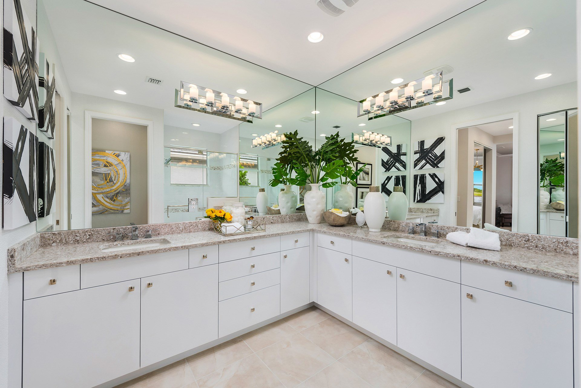 Heron Master Bathroom