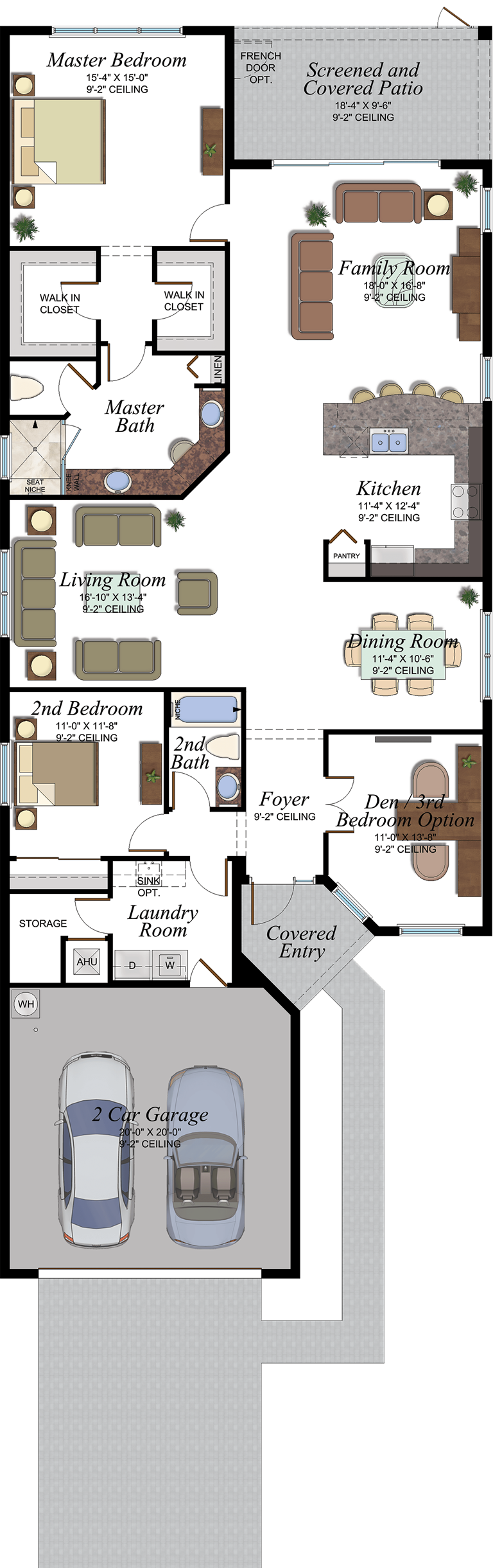 Marsala Floorplan