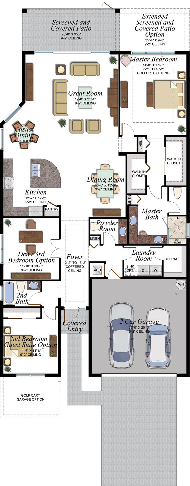 Atlantica Floorplan