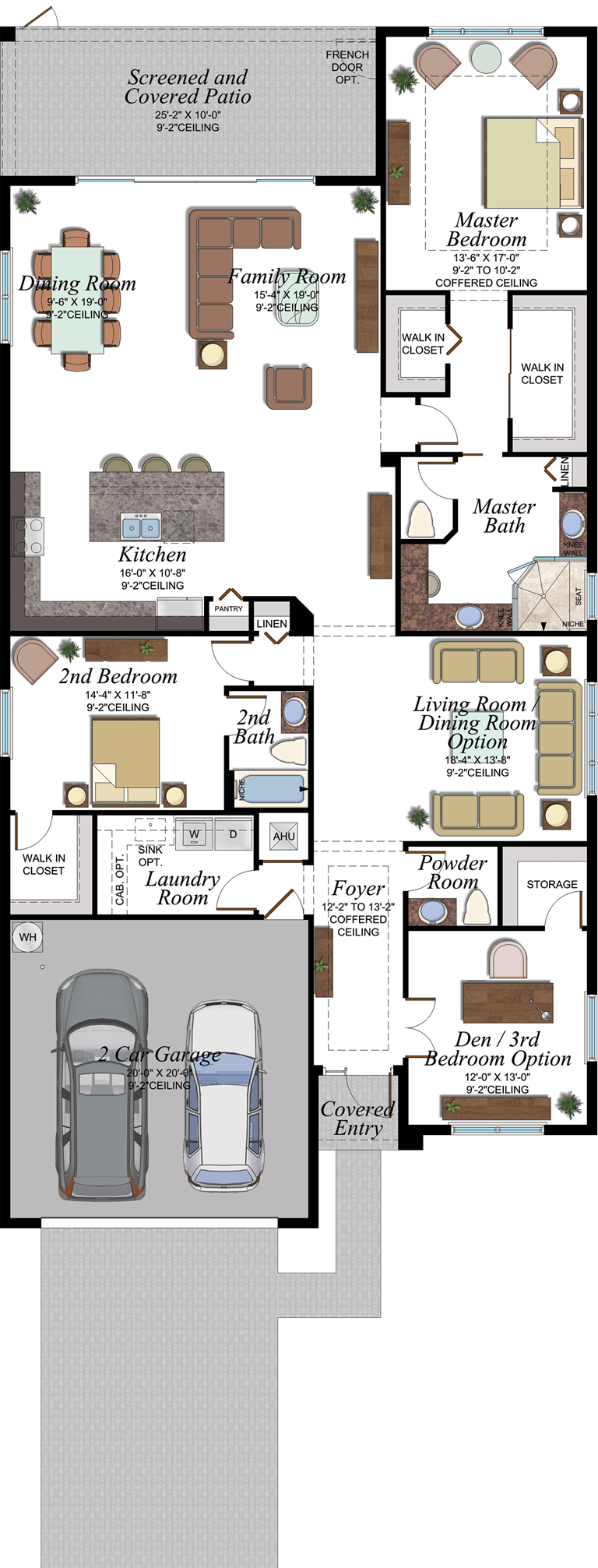 Amalfi Floorplan