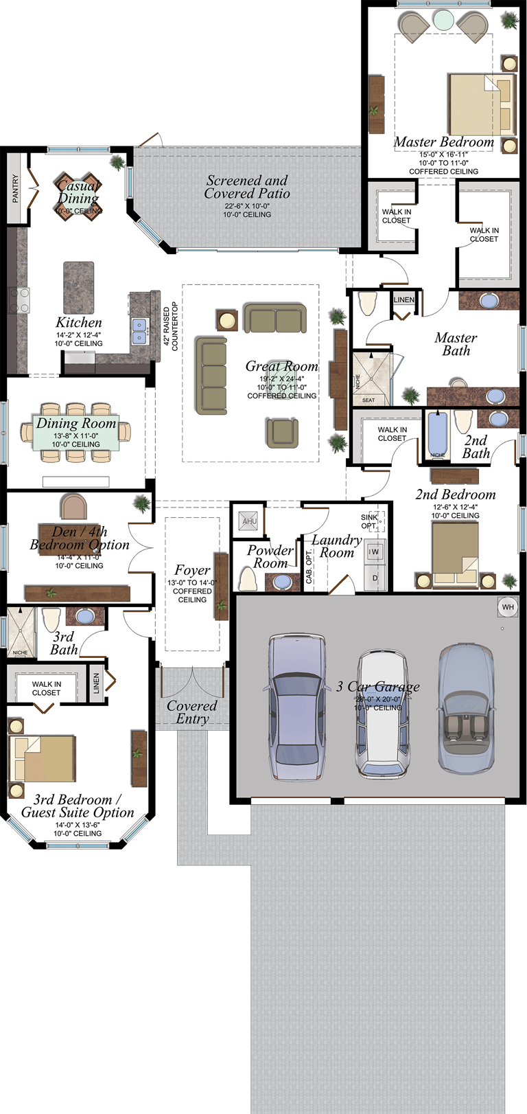 Julia Floorplan