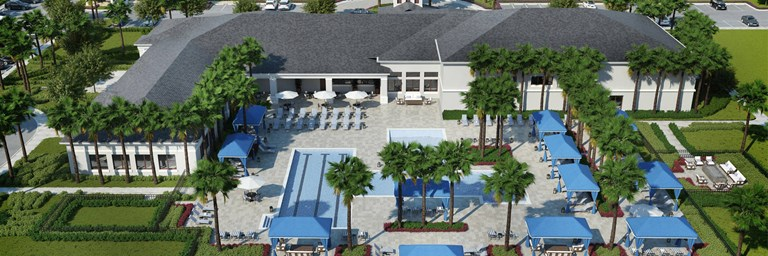 Valencia Del Sol Clubhouse and Pools Rendering 3 1