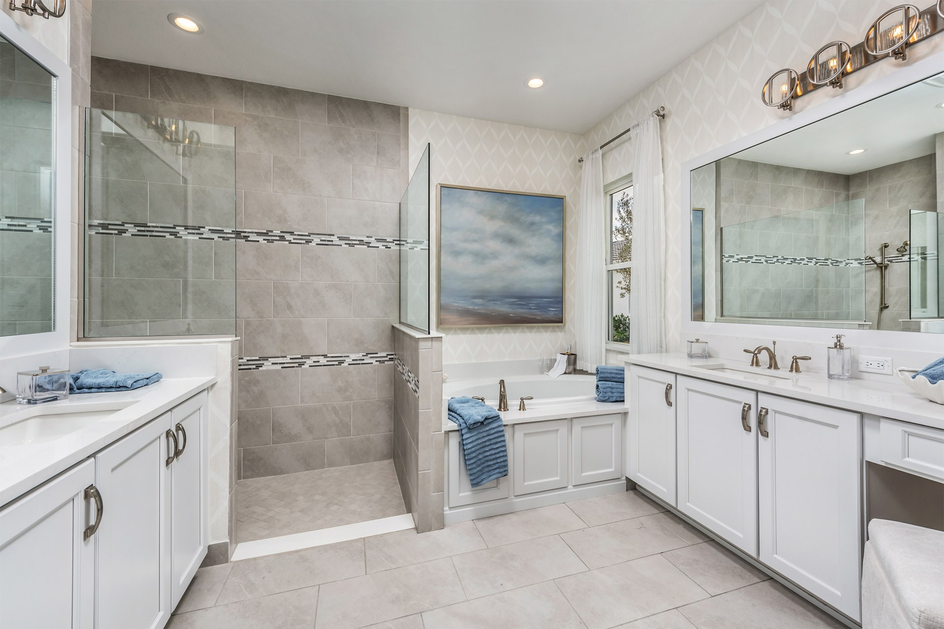 Carlyle Master Bathroom