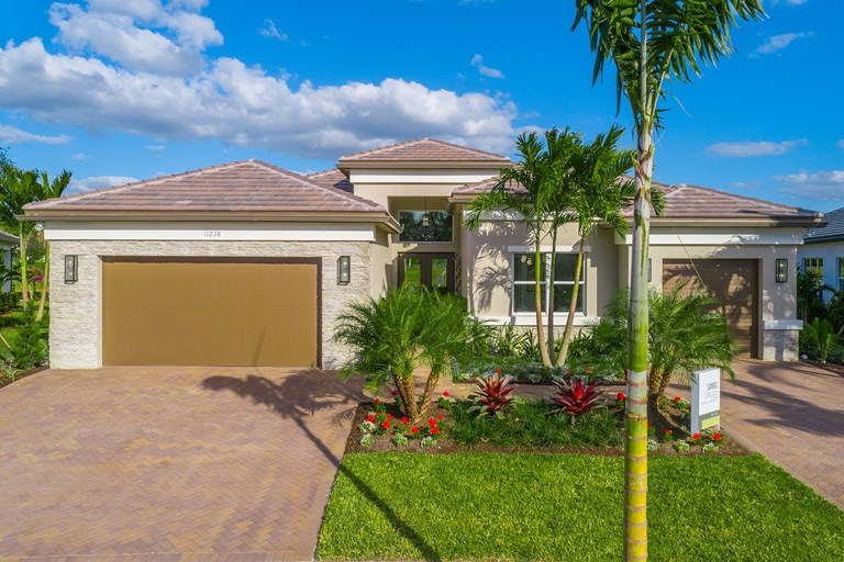 Sanibel Front Elevation