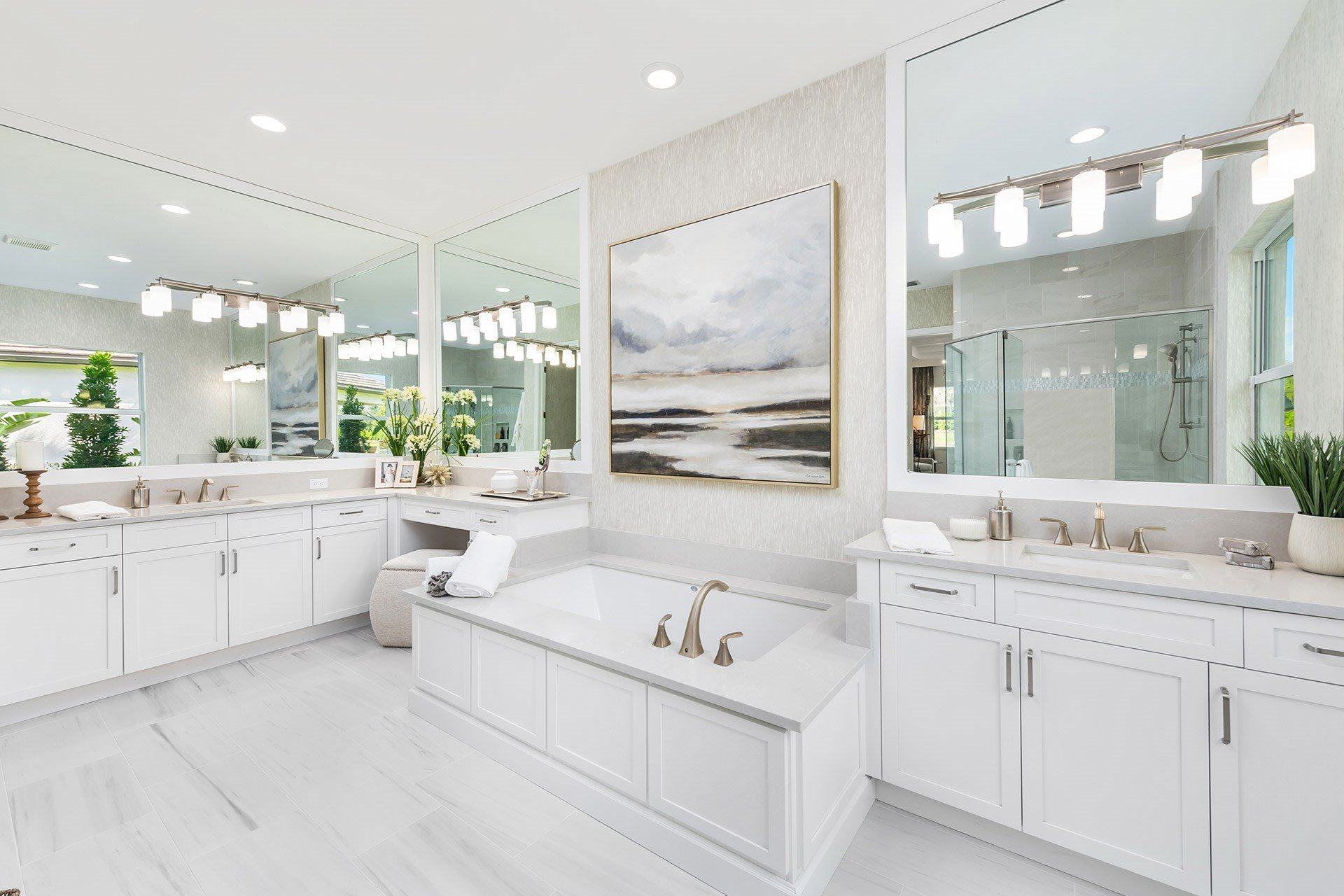 Sanibel Master Bathroom